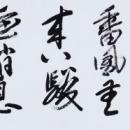第15回滴仙会書法展 (橘 碧蘭)