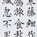 第15回滴仙会書法展 (小笠原澄雲)