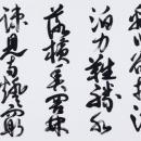 第15回滴仙会書法展 (松本秀麗)