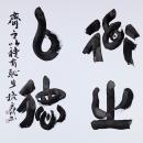 第15回滴仙会書法展 (佐野麗川)