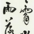 第45回日本の書展 (21.深山溪堂)